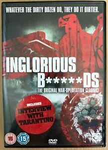 Inglorious Bastards DVD 1978 Italian Cult World War II WW2 Movie Classic