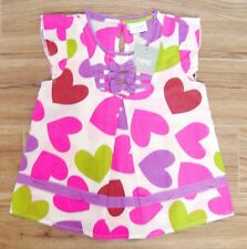 BNWT NEXT GIRLS HEART SMOCK TOP 4 YRS 3-4 NEW BLOUSE HOLIDAY PARTY CHRISTMAS