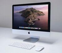"Apple iMac 21.5"" 4K 3.0 GHz i5 1TB HDD 8GB RAM 2GB GFX 2017 PRISTINE"
