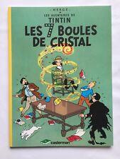 TINTIN LES 7 BOULES DE CRITAL / HERGE / BD 1999 / PUB TOTAL / CASTERMAN / TBE