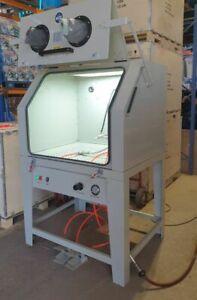 Sand Blasting Cabinet.SBC1000 Blast Cabinet Ideal for Wheels etc