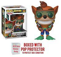 Pop Games : Crash Bandicoot - Crash Bandicoot with Scuba Gear #421 Vinyl w/Case
