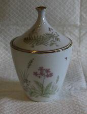 Pretty Heinrich Butterflies Spring Flowers & Ferns Lidded Pot