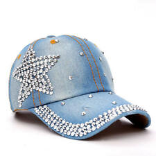 TUNICA latest design rhinestone crystal star star snapback hats for women new