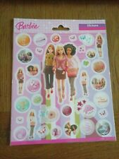 STUNNING Barbie Stickers Sheet For Card Making, Scrapbooking and Much More