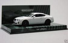 Véhicules miniatures blancs MINICHAMPS pour Bentley