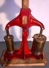 Vintage ESCO Shallow Water Diving Pump -Helmet Diver Dive Cast Iron /Brass Parts