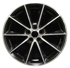 "NEW 19"" Ford Mustang 2015 2016 2017 Factory OEM Rim Wheel 10032 Black Machined"