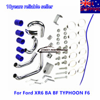 AUS Intercooler Pipe Piping Kit For Ford XR6 BA BF TYPHOON F6 4.0L 6cyl Petrol