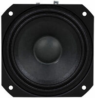 "NEW 4"" Midrange Speaker.Vocal Voice Home Audio Driver.4 ohm Square Frame Woofer."