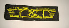 Y&T LOGO Embroidered PATCH Yesterday and Today Q5 Journey Bonfire Survivor Ratt