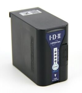 IDX SL-VBD96, Lithium Ion Battery