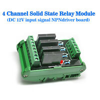 (US) Solid-state Relay Socket 4 Control Panels Drive Plates Omron NPN 12V