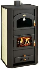 WoodBurning Stove Boiler Oven Cooker Log Burner 26kw Prity FGW20 DIFFERENT COLOR