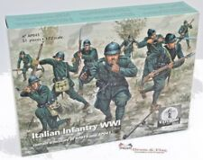 WATERLOO 1815 AP043. ITALIAN INFANTRY WWI.  1/72 SCALE PLASTIC.