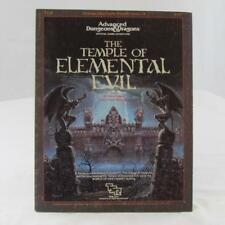 THE TEMPLE OF ELEMENTAL EVIL + BOOKLET T1-4 VF 1ST PRINTING SUPERMODULE TSR 9147