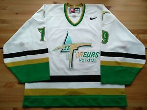 Pro 58G Val D'ors Foreurs Maxime Daigneault #79 Game Worn LNAH QMJHL Jersey