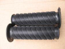 Pair Dnepr K750 Black Rubber Hand Grips Handlebar  style 1