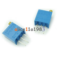 10Pcs 3296W-102  3296 W 1K ohm Trim Pot Trimmer Potentiometer AL