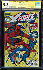 X-FORCE #11 CGC 9.8 WHITE SS STAN LEE SIGNED 1ST APP OF DOMINO CGC #1508470001