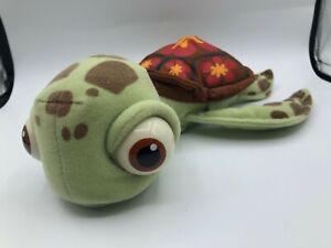 Finding Nemo Squirt Turtle Hasbro 2002 Disney Pixar Plush Stuffed Toy Animal