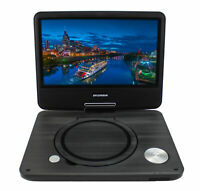 "Sylvania 9"" Portable DVD Player w/ LCD Swivel Display & Earphones,  Recertified"