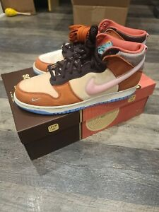 Nike Dunk Mid Free Lunch Chocolate Milk DJ1173 700 Size 11M In Hand Ships Fast