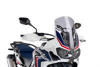 PUIG RACING SCREEN HONDA CRF1000L AFRICA TWIN 16-18 LIGHT SMOKE 8904H