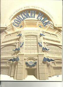 1991 Chicago White Sox Yearbook Frank Thomas Sammy Sosa Robin Ventura B Thigpen