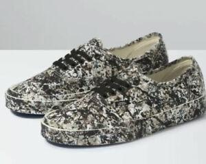 Vans x MoMA Jackson Pollock Authentic Sneakers Shoes 1950 Men's 6.5 Women's 8