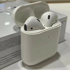 Refurbished Grade A-Apple AirPods 2nd Generation with Charging Case/white