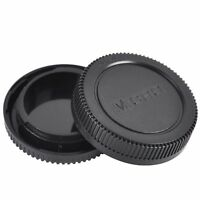 Body and Rear Lens Cap Cover for Panasonic Lumix Micro Four Thirds (M3/4)