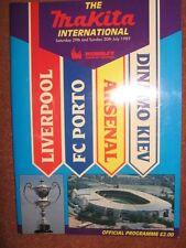 Makita Tournament 1989: Arsenal, Liverpool, DINAMO KIEV e Porto