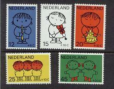NVPH 932-936 Kind 1969 postfris (MNH)