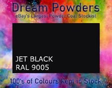 Jet Black Gloss RAL9005 matt satin Powder Coat Refurbishment Coating Alloy Wheel