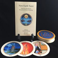 New Earth Tarot DECK & BOOK SET; Deck is LIMITED FIRST EDITION, Free Shipping