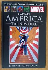 Marvel Ultimate Graphic Novels Collection #27 Captain America The New Deal