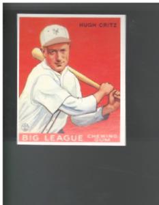 A7735- 1933 Goudey Reprints Baseball Card #s 1-240 -You Pick- 10+ FREE US SHIP