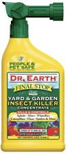 Dr. Earth Final Stop 32 oz Concentrate Yard and Garden Insect Killer - 8004