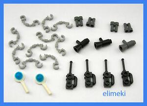 Lego - City - Police Accessories - Handcuffs Radios Binoculars etc All Brand New