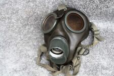 More details for ww2 german army gas mask 1940  black rubber made, stamps in a few places, good