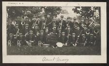Postcard Tyndall SD High School Band view 1906