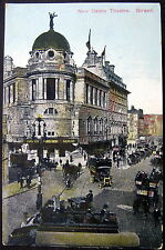Uk ~ England ~ 1900's London ~New Gaiety Theatre ~ Strand ~ Open Auto Bus & More