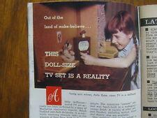 1958 TV Guide(PATTY  DUKE/ROD  CAMERON/GAIL  PATRICK/ED  SULLIVAN/PANTOMIME QUIZ