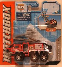 Matchbox 2012 Mbx Fire Stalker Real Working Rigs-Color Red