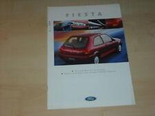 40028) Ford Fiesta Prospekt 08/1997