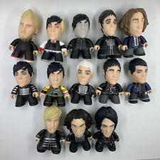 Titans My Chemical Romance  Action Figure Toy 3 PCS 7CM Height