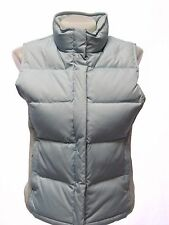 GAP Ladies Down And Feather Filled Light Blue Winter Puffer Vest XS
