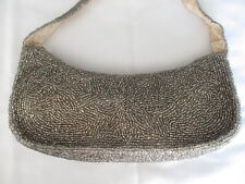 Beaded embellished bag with handle