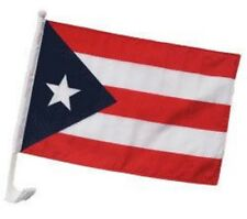"12x18 Puerto Rico Car Window Vehicle 12""x18"" Flag (Dark 1ply)"